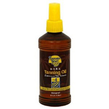 Banana Boat Deep Tanning Oil Spray SPF 4 Sunscreen 8 oz