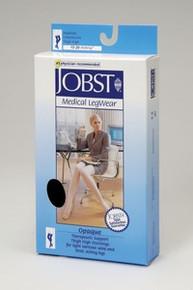 Jobst Opaque OPEN TOE Thigh Highs Petite 15-20 mmHg