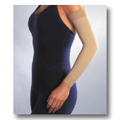 "Jobst 15-20 mmHg Armsleeve with 2"" Silicone Top Band"