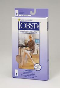 Jobst Opaque Open Toe Thigh Highs PETITE 30-40 mmHg