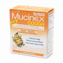 Mucinex Kids Cough Mini-Melts Orange Creme 12ea