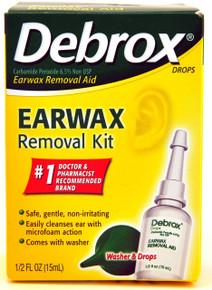 Debrox Drops Earwax Removal Kit 1 Each