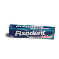 Fixodent Denture Adhesive Cream Original  2.4 oz