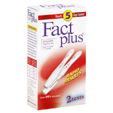 FACT PLUS PREGNANCY TEST STICK KIT 2