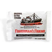 Fishermans Friend Menthol Cough Suppressant Lozenges Original Extra Strong -- 20 Lozenges Each / Pack of 24
