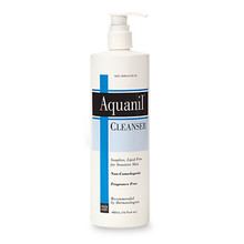 Aquanil Cleanser: Gentle, Soapless Lipid-Free Cleanser  16 fl oz