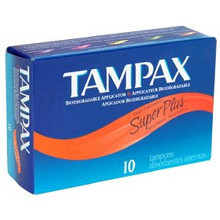 Tampax Super Plus Tampons 10ct