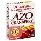 AZO Cranberry Supplement, Immune Boosting Probiotic & Vitamin C Tablets  50 ea