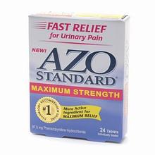 AZO Standard Max Strength Tablets  12 ea