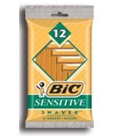 BIC CLASSIC SHAVER SENSITIVE SKIN 12CT