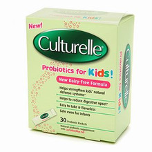 Culturelle Probiotics for Kids Natural Probiotic Supplement with Lactobacillus GG  30 probiotic packets