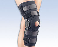 PowerCentric™ Composite, Polycentric, Hinged Knee Brace