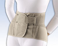 "Soft Form Lumbar Sacral Support, 11"" with Flexible Stays"