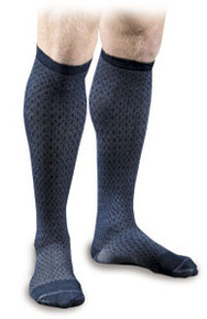 Activa Men's Patterned Casual Socks Herringbone 15-20 Compression