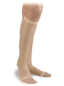 Activa Sheer Therapy Knee High 15-20 Compression Open Toe
