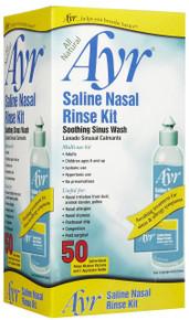 Ayr Saline Sinus Rinse Kit with Bottle