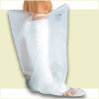 FLA Orthopedics Cast Protector Cover- Full Leg