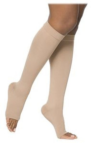 Sigvaris 860 Select Comfort Series 20-30 mmHg Open Toe Unisex Knee Highs - 862C