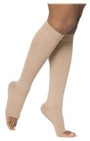 Sigvaris 860 Select Comfort Series 20-30 mmHg Open Toe Unisex Knee Highs - 862C