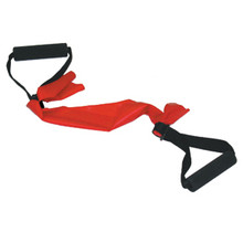 CANDO HANDLE WITH ADJUSTABLE WEBBING FOR BAND/TUBING, 1 PAIR