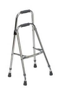 Folding Aluminum Hemi-Walker