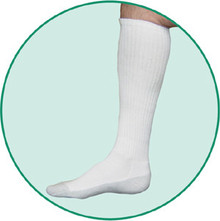 Juzo 5760 OTC Silver Sole Unisex Knee High Socks 12-16mmHg