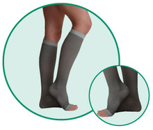 Juzo Silver Soft 2062 Knee Highs 30-40 mmHg