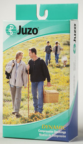 Juzo Soft 2002 Open Toe Thigh High w/ Hip Attachment 30-40 mmHg