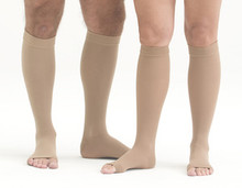 Mediven Forte 40-50 mmHg Extra Wide Calf Open Toe Knee Highs