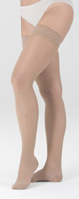 Mediven Sheer & Soft Women's OPEN TOE Thigh Highs 20-30 mmHg