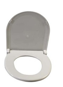 Drive Oblong Oversized Toilet Seat with Lid