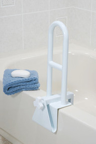 Drive Non-Adjustable Height Clamp on Tub Rail
