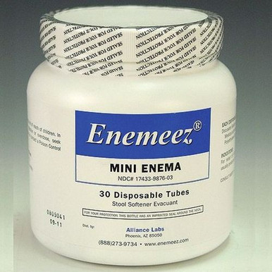 Enemeez Mini Enema: 30 Disposable Tubes