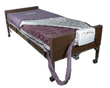 "Drive Med-Aire Alternating Pressure Mattress Replacement System with Low Air Loss 36"" x 80"" x 8"""