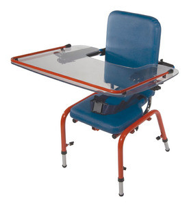 Blue School Chair drive wenzelite clear tray for first class school chair