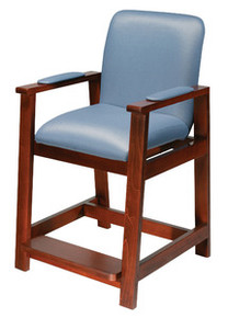 Drive Deluxe Hip-High Chair, Wood Frame