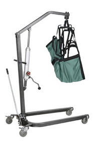Drive Hydraulic Standard Patient Lift with Six Point Cradle