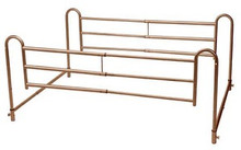 Drive Tool Free Adjustable Length Home Style Bed Rail - 1 pr