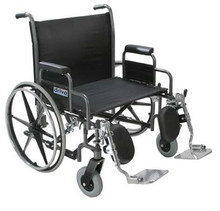 Drive Sentra 30'' Heavy-Duty, Extra Wide - Dual Axle Wheelchair