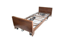 Drive Ultra Light Plus Full-Electric Low Bed with Half Length Rails and Mattress