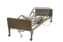 Drive Ultra Light Full Electric Bed with Full Length Side Rails and Therapeutic Mattress