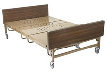 "Drive Full Electric Bariatric Bed 54'' Width with Foam Mattress and Two Pairs of ""T"" Rails"