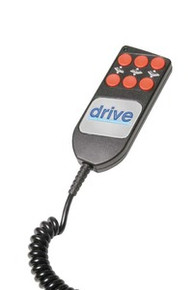 Drive Hand Controls for use with 15030 and 15030N Ultra Light Plus Semi-Electric Bed, 15230 and 15235 Low Beds