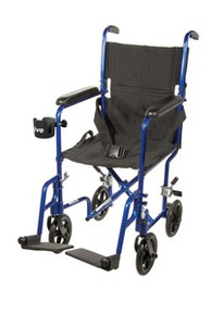 Drive 17'' Aluminum Transport Chair