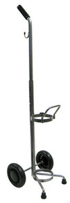 Adjustable Oxygen Cart with Silver Vein Finish - Case of 6