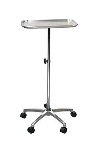 Drive Mayo-Instrument Stand with 5 Casters