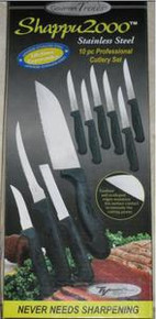 Gourmet Trends Shappu2000 Stainless Steel 10 piece Professional Cutlery Set