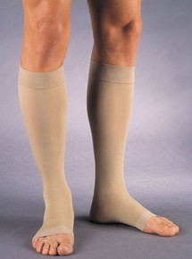 Jobst Relief 20-30 Compression Open Toe Knee High Beige