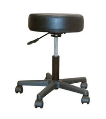 Drive Revolving Pneumatic Adjustable Height Stool with Plastic Base