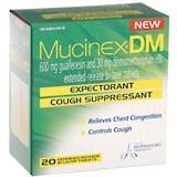 Mucinex DM Expectorant Cough Suppres Ext Release Tablet 20ct
